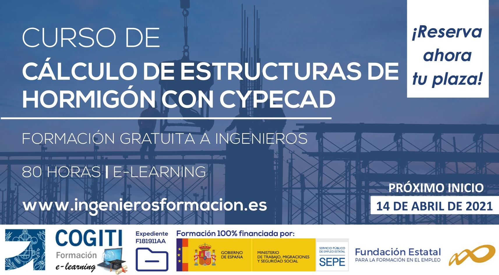 Formacion Gratuita Calculo Estructuras De Hormigon Con Cypecad Cogiti Albacete